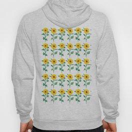 Sunflowers pattern Hoody