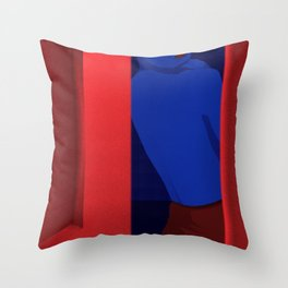 Just to see Throw Pillow