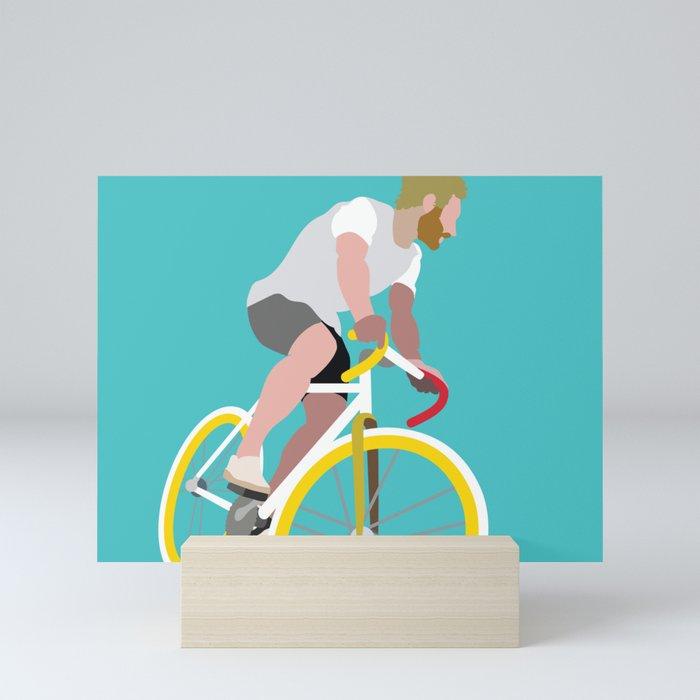 Bike Ride Mini Art Print