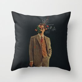 The Energy Vibrations Of Atoms Throw Pillow