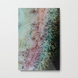 Mermaid in Abstract IV Metal Print