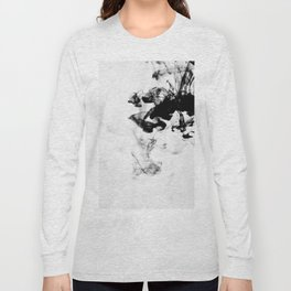 On the Gray Scale Long Sleeve T-shirt