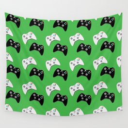 Video Game Controllers Wall Tapestry