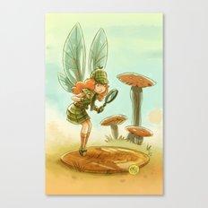 Goblins Drool, Fairies Rule! - Penny Clue Canvas Print
