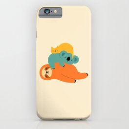 Being Lazy iPhone Case