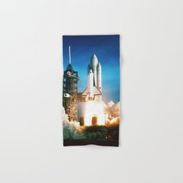 Space Shuttle Launch Hand & Bath Towel