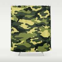 military Shower Curtains featuring Military  by ''CVogiatzi.
