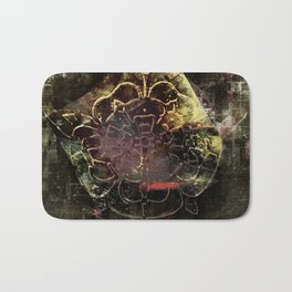 The Dragonfly & The Rose Bath Mat