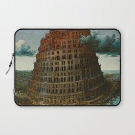The Tower of Babel by Pieter Bruegel the Elder Laptop Sleeve
