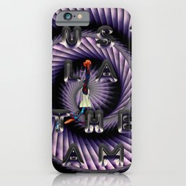 just play the game iPhone Case