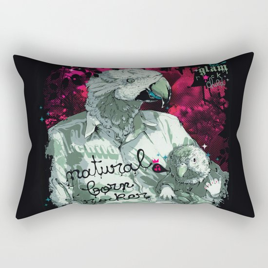 Natural born rocker... Rectangular Pillow