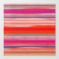 stripes Canvas Prints featuring stripes by spinL