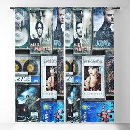 Old cassettes Blackout Curtain