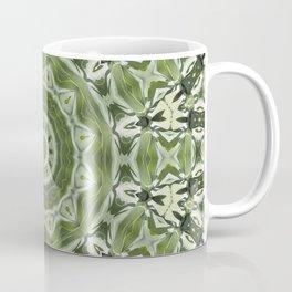 Green mosiac Coffee Mug