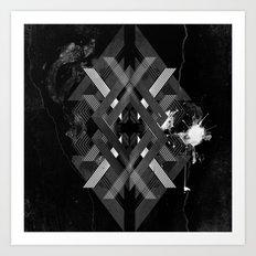 Geometrica - Redux Art Print