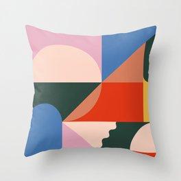 Summer Haze Throw Pillow