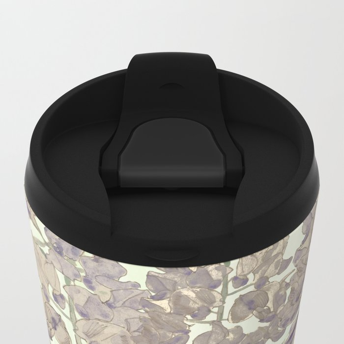 """""""A thing of beauty is a joy forever: Metal Travel Mug"""