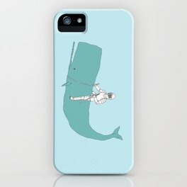 Save the whale iPhone Case