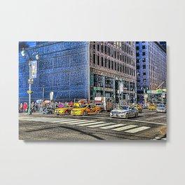 Street Art New York Metal Print