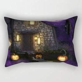 Spider Halloween Rectangular Pillow