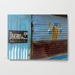 DeathRow Gym and Aerobics Metal Print