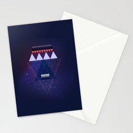 GALAXY TRIANGLE Stationery Cards