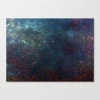 aqua Canvas Prints featuring aqua by Vita♥G