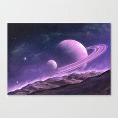 Saturn Rise Canvas Print