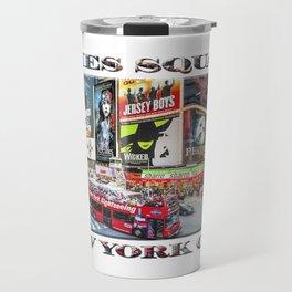 Times Square NYC (poster edition) Travel Mug