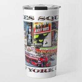 Times Square NYC (poster edition) Travel Mug