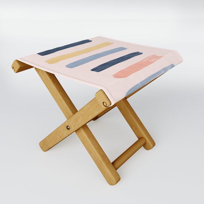 Rainbow Folding Stool