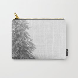 Snow Lift // Ski Chair Lift Colorado Mountains Black and White Snowboarding Vibes Photography Art Pr Carry-All Pouch