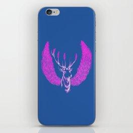 Winged Pink Deer iPhone Skin