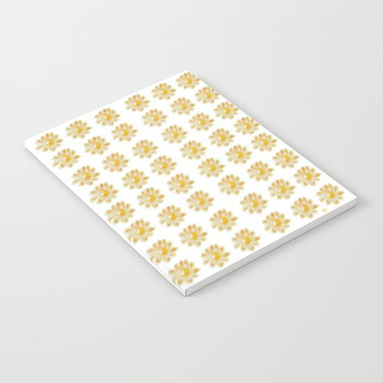 Golden Daisy Notebook