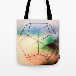 The Elements Geometric Nature Element of Spirit Tote Bag