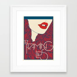 Flaming Lips Framed Art Print