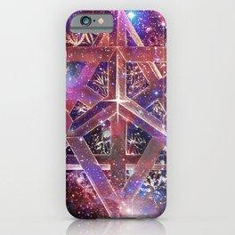 Cosmic Merkaba iPhone Case