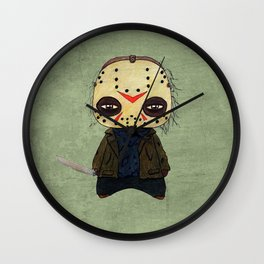 A Boy - Jason ( Friday the 13th) Wall Clock