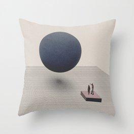 Starting over Throw Pillow