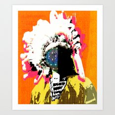 Indian Pop 41 Art Print