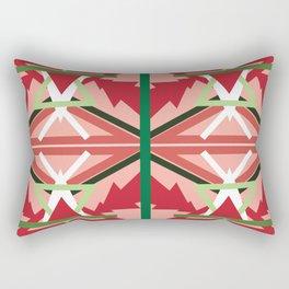 Holiday Pattern Rectangular Pillow