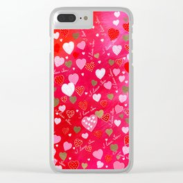 I Love You Clear iPhone Case