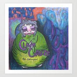 Clawn Gauze Art Print