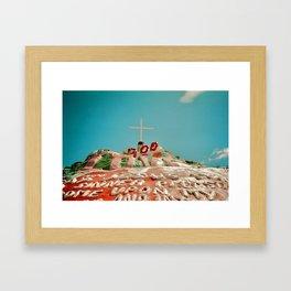 View of Mountain Framed Art Print
