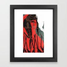 Knight of Swords Framed Art Print