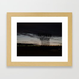 Brooklyn: Kentile Floors Framed Art Print