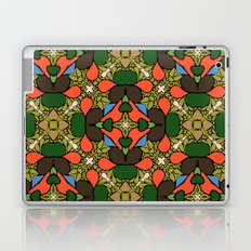Retro Orange Laptop & iPad Skin