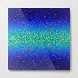 Glitter Star Dust G247 Metal Print