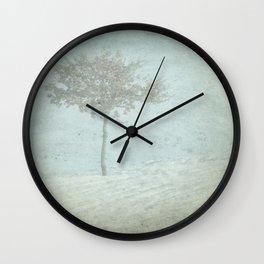 Winter's Coming Wall Clock