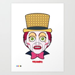 Columbia - The Rocky Horror Picture Show Art Print
